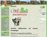 Website Will Garten&Baumpflege