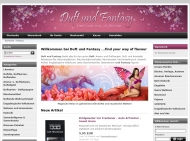 Website Duft und Fantasy