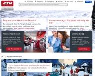 Bild Webseite A.T.U Auto-Teile-Unger Magdeburg