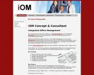 Website iOM Concept & Consultant UG