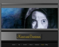 Website Kunst und Emotionen