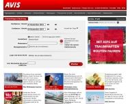 Bild Webseite Avis Blomberg