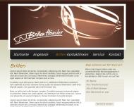 Bild Webseite Brillen - Häusler Inh. Christina Bauer-Häusler München
