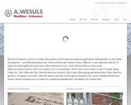 Bild A. Wesuls Metallbau Schlosserei