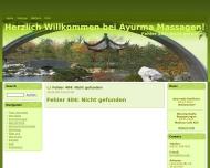 Website Herzlich Willkommen bei Ayurma Massagen! - Trad. Ayurveda