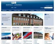 Bild Webseite Bartels-Langness Handelsges. Kiel