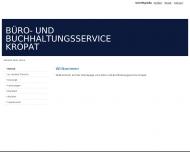 Bild Webseite Kropat-Zehner Cornelia Büro- u Buchhaltungsservice Kiel