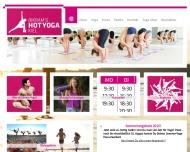 Bild Webseite Bikram´s Hot Yoga Kiel Kiel
