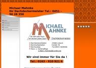 M.Mahnke Dachdeckermeister,Soldatenweg 4, 23566 L?beck Tel 0451 5028356 - Home