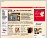 Bild Webseite Cafe Extrablatt Düren Köln