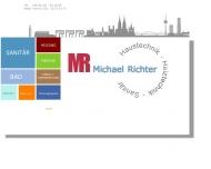 Bild Webseite Richter Haustechnik Heizung/Sanitär/Solar Köln