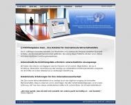 Bild Webseite Wirtschaftsdetektei Stein Köln