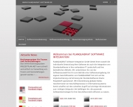 Website Planquadrat Software-Integration