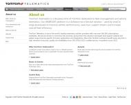 Bild Webseite TomTom Work Leipzig