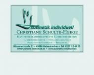 Bild Kosmetik individuell Christiane Schulte-Heege