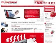 Website PCFeuerwehr 1996