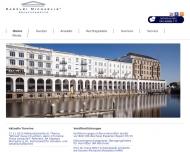 Bild Webseite Kanzlei Michaelis Rechtsanwälte Partnerschaftsgesellschaft Hamburg