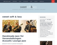 Bild Sweet, Soft & Lazy - Jazzband für Events