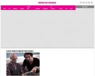 Bild Webseite MIAMI AD SCHOOL Hamburg