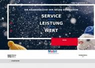Bild Webseite BKK Mobil Oil Hamburg