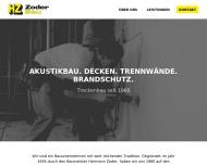 Bild Zoder Bau GmbH Trockenbau