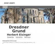 Bild Webseite Dresdner Grund Herbert Eisinger Dresden