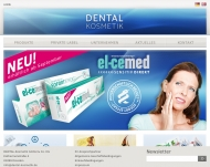 Bild Webseite DENTAL-Kosmetik Dresden