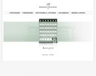 Bild Webseite Bankhaus Hallbaum Hannover