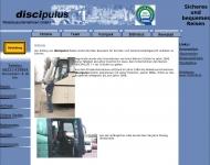 Website discipulus Reisebusunternehmen