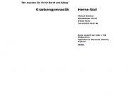 Bild Krankengymnastik - Herne Süd Michael Brenker