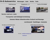 Website BD-Autoservice de