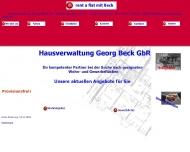 Bild Webseite Beck G. Karlsruhe