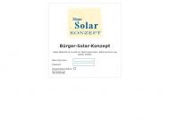 Bild Webseite Bürger-Solar-Konzept (BSK) Unternehmergesellschaft Halle