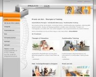 Praxis am Eck - Physiotherapie in Freiburg - Praxis am Eck - Therapie Training