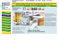 Website Burgold & Söhne