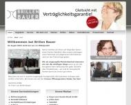 Bild Webseite Brillen Bauer Dachau