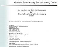 Bild Griwatz Bauplanung und Betreuungs GmbH