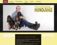 Website Hundstage Hamburg Yvonne Arndt