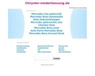 Bild Webseite Chrysler & Jeep Vertriebs Hamburg