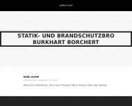 Bild Webseite Prüf- und Ingenieurbüro Burkhart Borchert Dresden