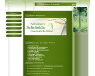 Website Schreinerei Schränkla