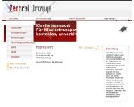 Website 24h Zentral Umzüge