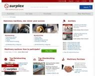 Gebrauchtmaschinen online kaufen verkaufen Surplex