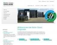 Bild ROHR-CLEAN UNGLAUBE - Dinestleistungen rund um Rohr und ...