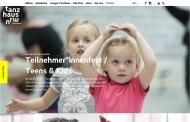 Bild Webseite tanzhaus nrw Düsseldorf