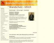 Bild Brandschutz - Ullrich