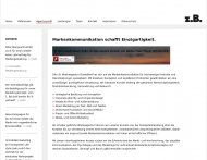 Website z.B. Werbeagentur