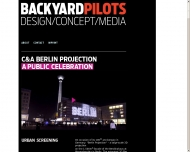 Bild Webseite Backyard Pilots Postproduktion Düsseldorf