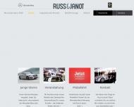 Bild Webseite Russ & Janot Erfurt