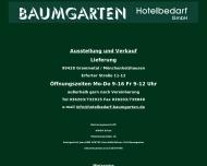 Bild Baumgarten Hotelbedarf GmbH